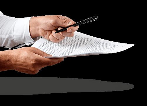 Contrat prêt à signer