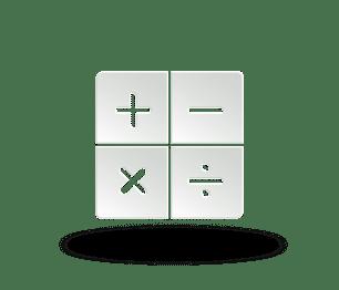 Signe mathématiques
